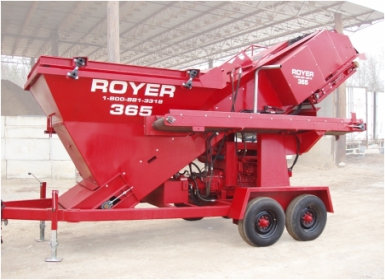 Royer 365 Topsoil Shredder