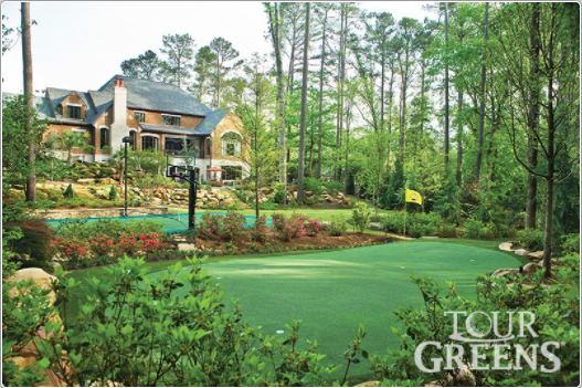 Golf Chipping Green