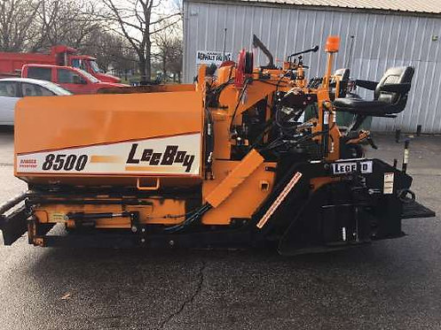 LeeBoy 8500 Low Deck Asphalt Paver