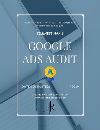 google ads campaign audit