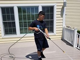 patio power washing