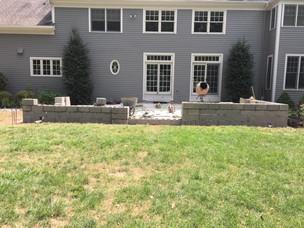 Stone Wall Masonry Project