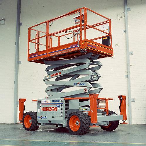 Skyjack SJ6826 RT Scissor Lift
