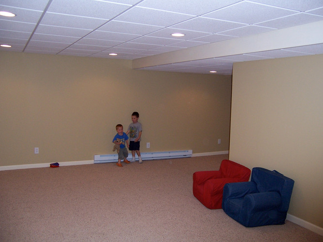 Basement Family Room Remodel - Brian K. Otto Home Remodeling