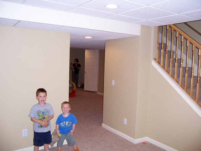 Basement Remodeling - Brian K. Otto Home Remodeling