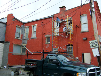 Commercial Building Exterior Remodel - Brian K. Otto Home Remodeling