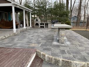 New Patio pavers - masonry