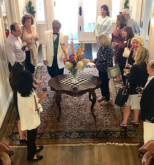 House Tour lead by our mansion Manager,