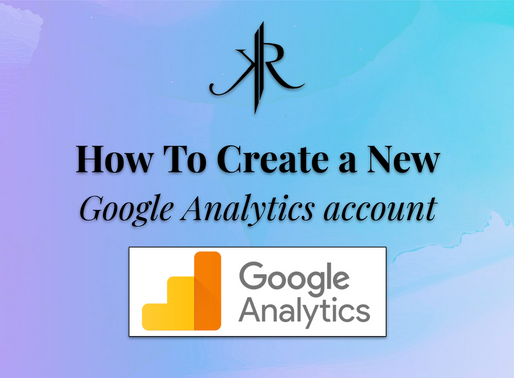How to Create a GA Account