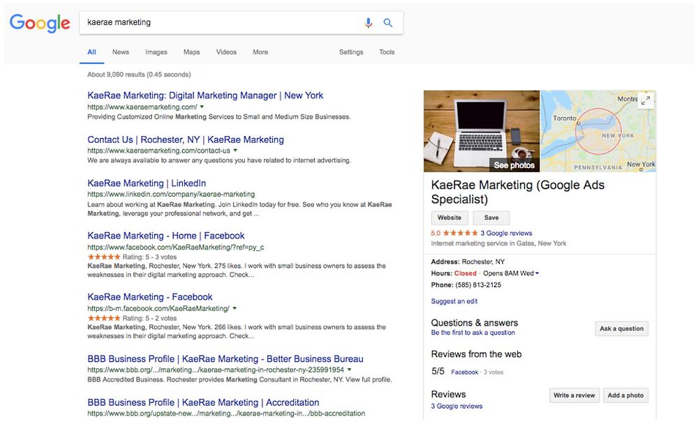 Google - Google Expert - Google Ads - Google My Business