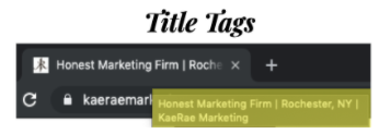 Website - Title Tags
