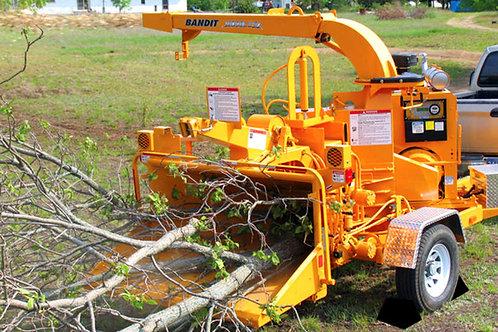 Brush Bandit 250 Wood Chipper