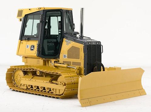 John Deere 450J LT Crawler Tractor - 16,300#
