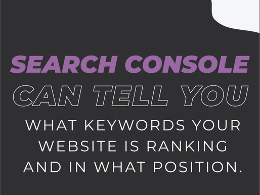 Keyword Lists & Planning are Everything
