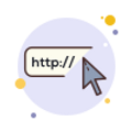 custom website design button
