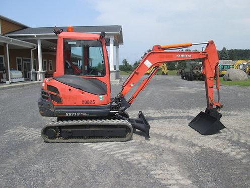 Kubota KX71-3HGLS Mini Excavator