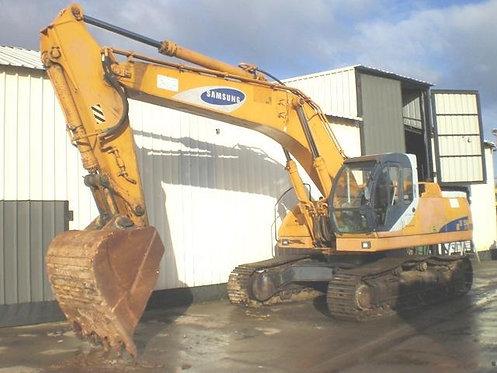 Samsung SE350LC-2 Hydraulic Excavator