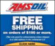 AMSOil free shipping banner