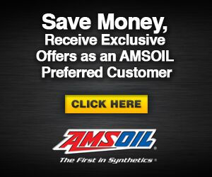 AMSOil preferred customer banner