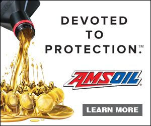 AMSOil banner: devoted to protection