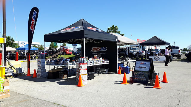 Fleury Powersports event display tent