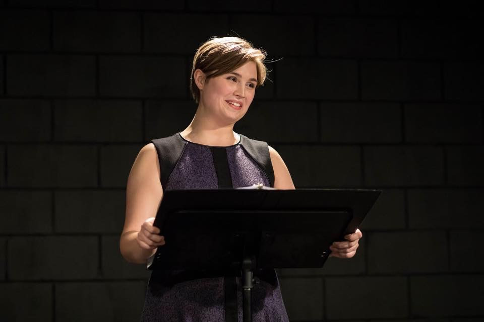 Savannah Lloyd as Teacher In Real Life by Stacie Lents - Credit: Bang Chau/Jersey City Theater Center