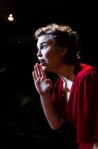 Savannah Lloyd in Assassins at The Secret Theatre - Credit: Carrington Spires Photography