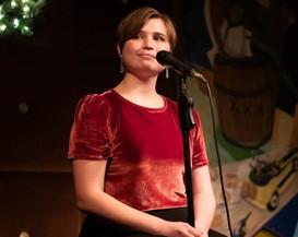 Savannah Lloyd singing in Broadway Night NYC at Prohibition - Credit: Natalie Fisher Photography