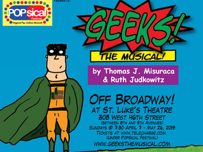 GEEKS! THE MUSICAL! Off-Broadway