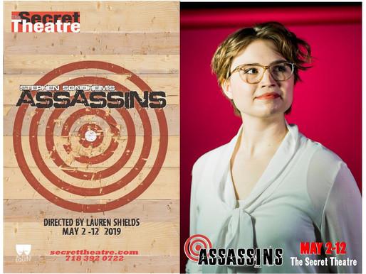 ASSASSINS at The Secret Theatre