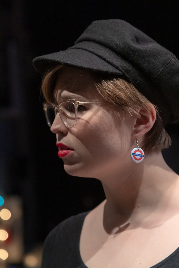 Savannah Lloyd in Love, Loss and What I Wore - Pioneer Productions Company. Credit: PenguinMoonStudio