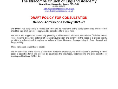 Policies for Consultation