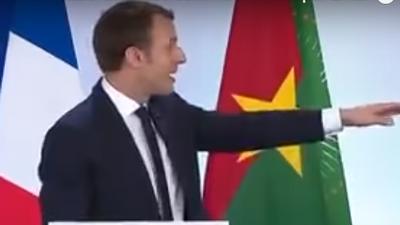 Potacheries africaines de Jupiter Macron