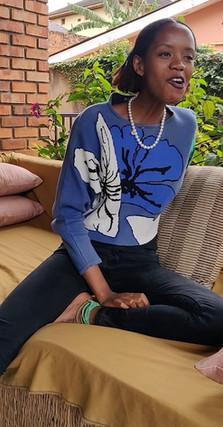 Interview in Rwanda