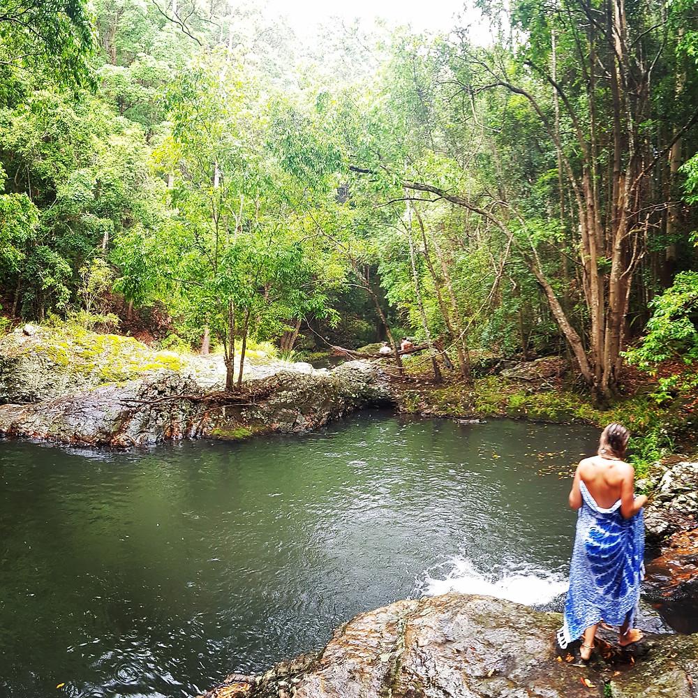 The Secret Swim Spot of Kondalilla Falls, Montville, QLD