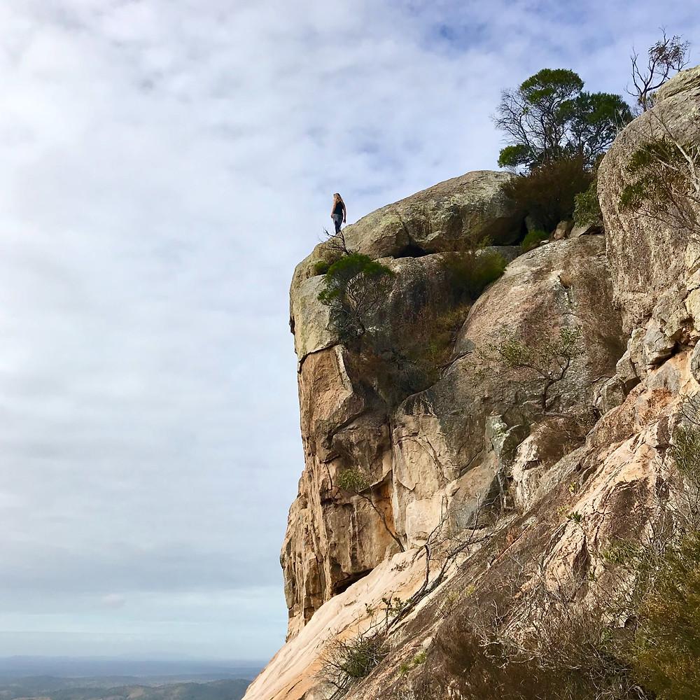 Hiking Mount Walsh Queensland Rock Climbing