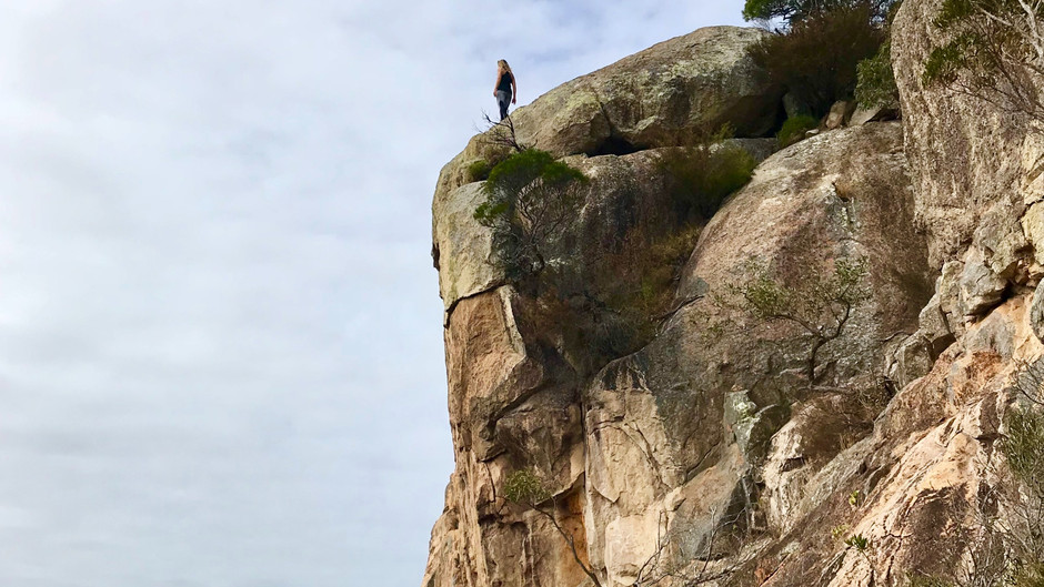 Hiking Mount Walsh: The rock lovers playground
