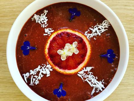 Mocha Red Velvet - Vegan Smoothie Bowl