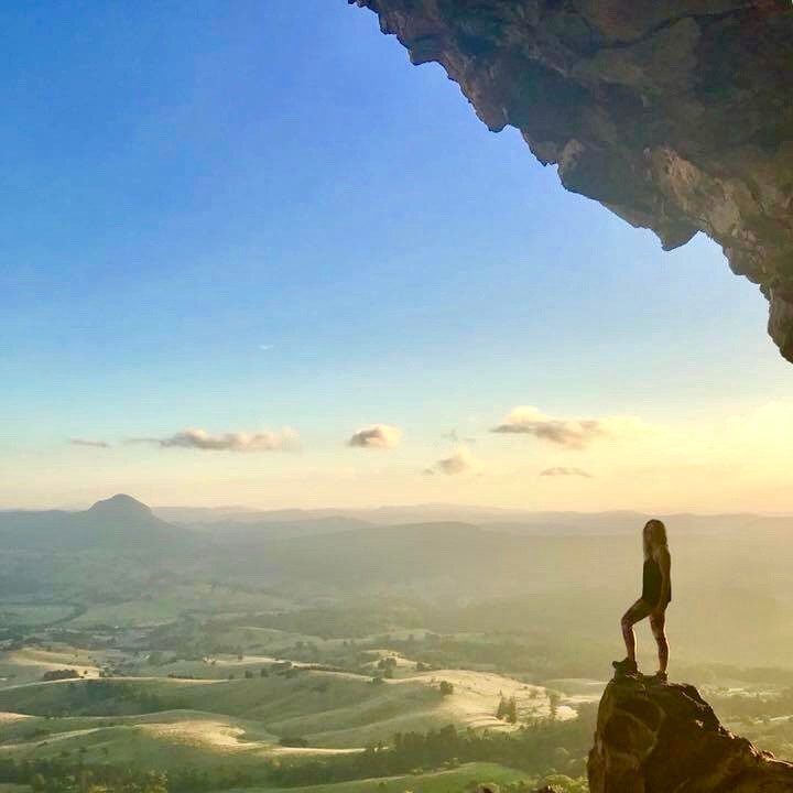 Mount Maroon Caves Hike Scenic Rim