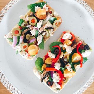 Damona Mozzarella with Herb & Tomato ~ Vegan Cheese Review Australia