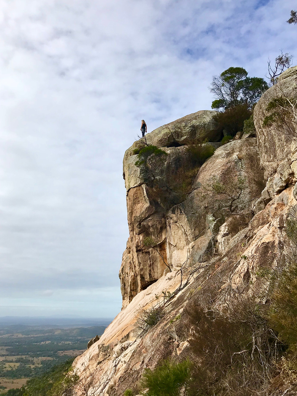 Hiking Mount Walsh Queensland Rock Climbing