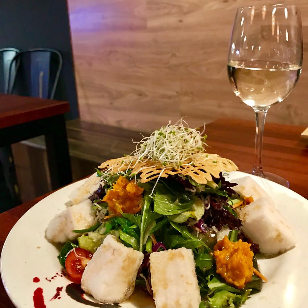 Vegan Japanese Tofu Salad