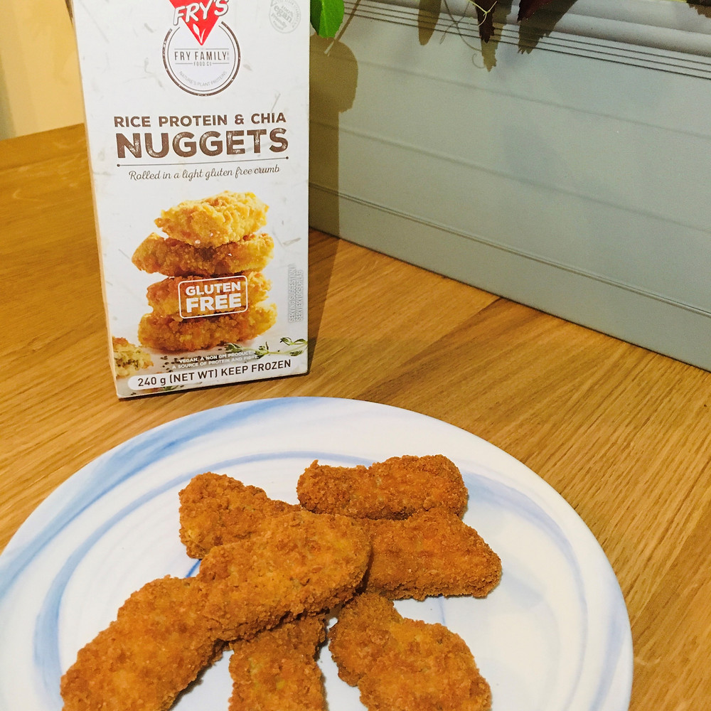 Fry Family Rice & Chia Chicken Free Vegan Plant Based Nuggets