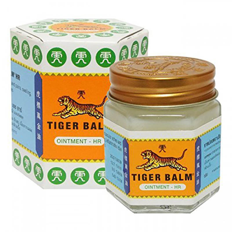 Tiger Balm Ointment - A great alternative mosquito repellent