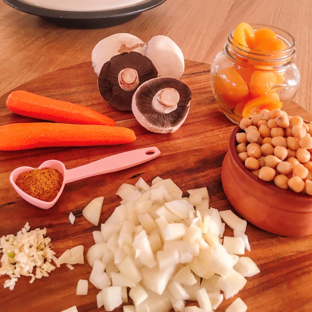 Vegan Moroccan Apricot Chick...Pea Tagine