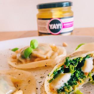 Yay Feta & Pine Nut Stuffed Pasta Dumplings