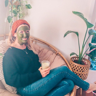 Matcha Green Tea Aloe Vera Face Mask