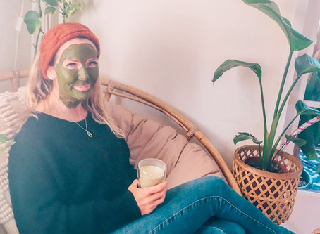 Matcha Green Tea Aloe Vera Face Mask
