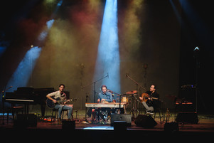 Larva with guest Giannis Koutis on oud 6th Cyprus Jazz and world music showcase at Rialto theater (photo credits_Rialto)
