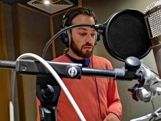Album studio recording (photo credits_Odysseas Toumazou)